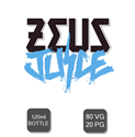 Zeus Juice 120ml Shortfill's