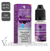 Blackcurrant Diamond Mist 10ml E Juice
