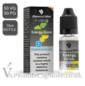 Energy Drink Diamond Mist 10ml E Juice