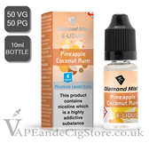 Pineapple Coconut Rum Diamond Mist 10 E Juice