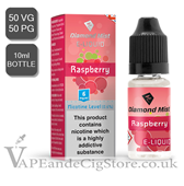 Raspberry Diamond Mist 10ml E Juice