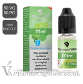 Mint Flavour Diamond Mist 10ml E Juice