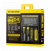 Nitecore D4 Digital Battery Charger