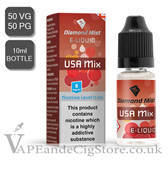 USA Mix Tobacco Diamond Mist 10ml E Juice