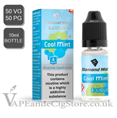 Cool Mint Flavour Diamond Mist 10ml E Juice