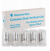CumulUs Diamond Mist Tank 0.25 oHm Replacement Coils