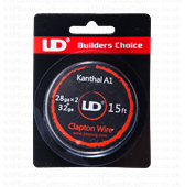 UD Clapton Kanthal Wire 15ft Spool