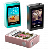SMY 100w Touch Screen Temperature Controlled Box Mod