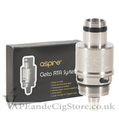 Aspire Cleito RTA Dual Coil Deck System