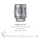 Smok TFV8 Baby T8-Q2 Replacement Coils 0.4ohm