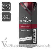 Black Cherry E Liquid by Vape Mate