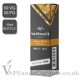Amber Blend Tobacco E Liquid by Vape Mate