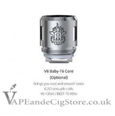 Smok TFV6 Baby T8-T6 Replacement Coils 0.2ohm