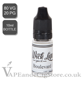 Boulevard E Juice By Wick Liquor (10ml Bottle)