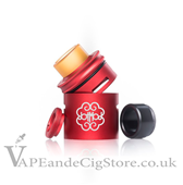 24mm Petri Extension Cap by Dot Mod Red