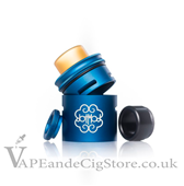 24mm Petri Extension Cap by Dot Mod Blue