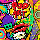 Caramel Popcorn by Pop Art Nic Shot (100ml Bottle)