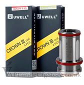 Uwell Crown 3 Mini Replacement Coils (Pack Of 4 Coils)