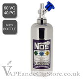 Blackforest by NOS E Liquids Nic Shot (60ml Bottle)