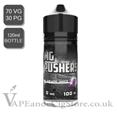 Green Apple Menthol By MG Pushers (120ml Bottle)