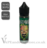 Heizenvert Grape Nic Shot (60ml Bottle)