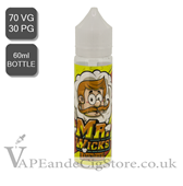 Lemon Tart by Mr Wicks E Juice (60ml Bottle)