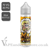 Toffee Popcorn by Mr Wicks E Juice (60ml Bottle)