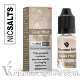 Silver Mist Salt Nic 10ml E Juice