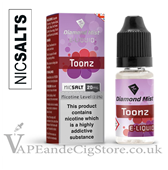 Toonz Flavour Nic Salt 10ml E Juice