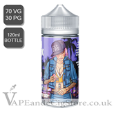 Purple District by Fresh As F**K E Liquids (120ml Bottle)