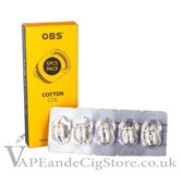 OBS Cotton Replacement Coils