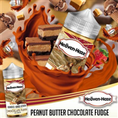 Peanut Butter and Chocolate Fudge by Heaven Haze (120ml Bottle)
