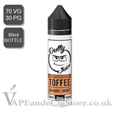 Toffee, Caramel Donut by Dutty Juice (60ml Bottle)