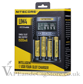 Nitecore UM4 Digital Battery Charger