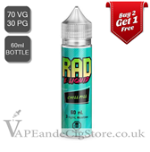 Chill Pill by Rad E Liquids Nic Shot (60ml Bottle)