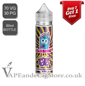 Blackcurrant Lemonade by Slushie E Liquids (60ml Bottle)