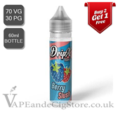 Berry Slush by DripX E Liquids (60ml Bottle)