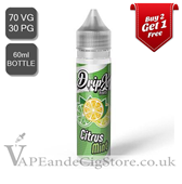 Citrus Mint by DripX E Liquids (60ml Bottle)