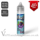 Hizen Berry by DripX E Liquids (60ml Bottle)