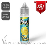 Lemon Heaven by DripX E Liquids (60ml Bottle)