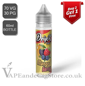 Mango Berry by DripX E Liquids (60ml Bottle)