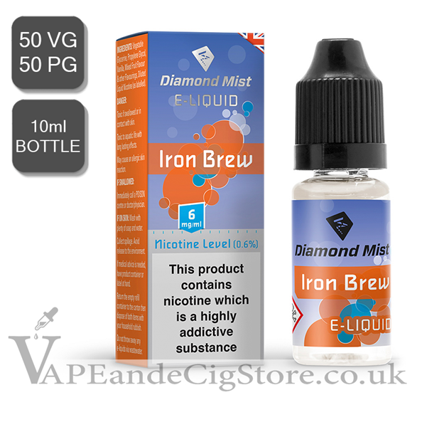 Iron Brew Diamond Mist 10ml E Juice