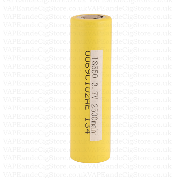 Genuine LGHE4 IMR 18650 2500mah 35 Amp Flat Top Battery