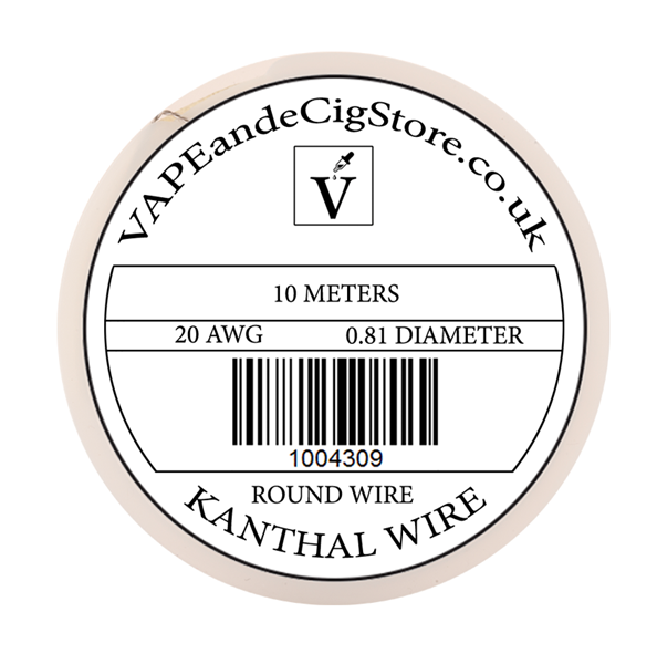 Kanthal A1 Wire 10 Meter Spool (Round)
