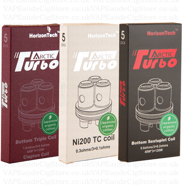 Arctic Turbo Replacement Coils By Horizon