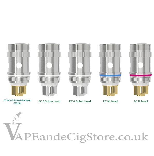 EC Atomiser Heads By Eleaf
