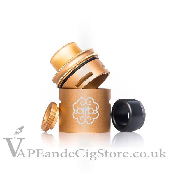24mm Petri Extension Cap by Dot Mod Gold