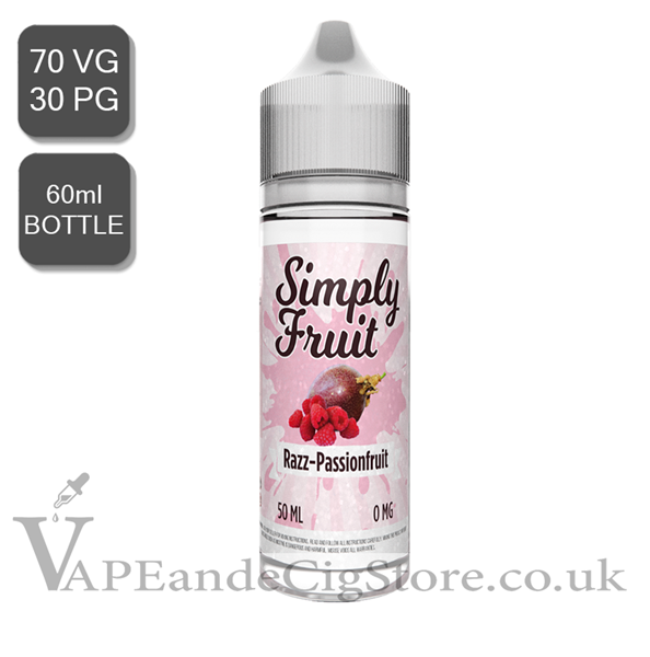 Razz Passionfruit By Simply Fruit (60ml Bottle)