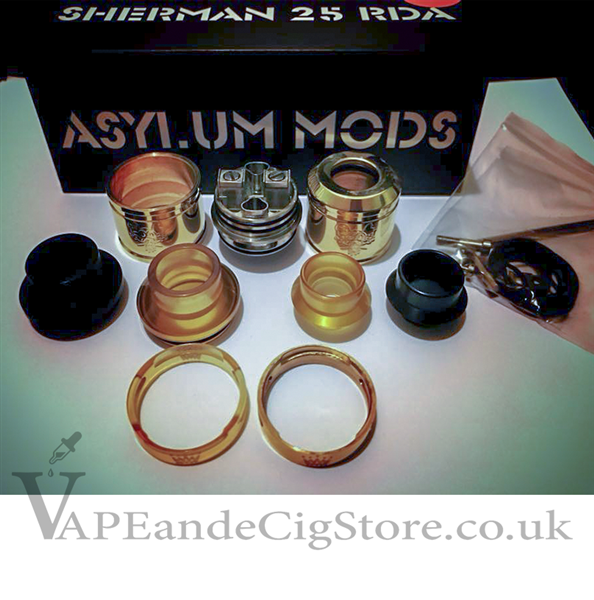 Sherman RDA 25mm by Asylum Mods
