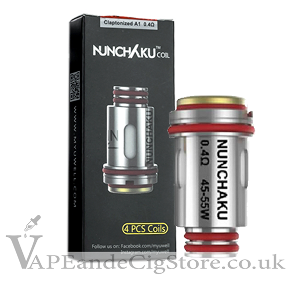 Nunchaku Replacement Coils by Uwell